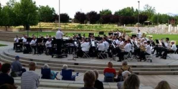A band performing at a past patriot picnic.