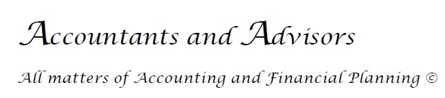 Accountants & Advisors Logo