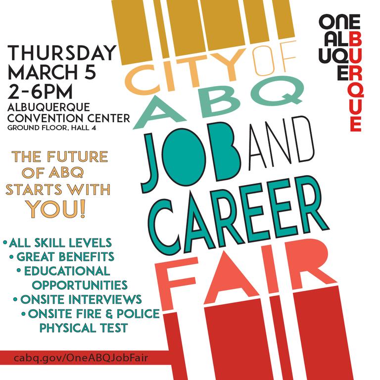 Job Fair Flyer: March 2020