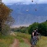 Bikes and balloons