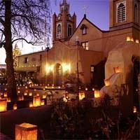 Church with Luminarias