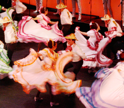 "Image of the ""Mariachi Christmas"" holiday performance at UNM's Popejoy Hall."