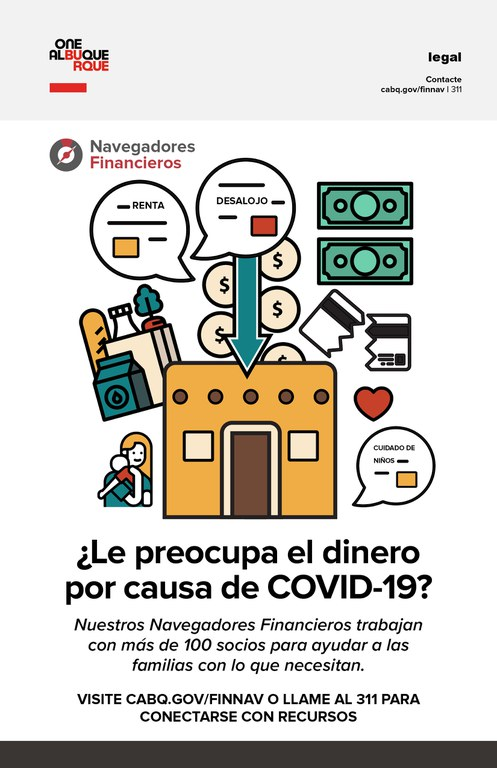 A JPG of the Financial Navigators Flyer Image: Spanish.