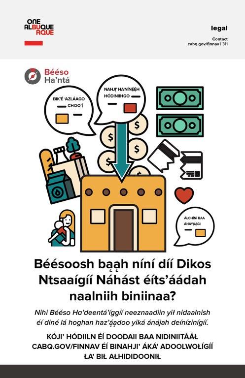Financial Navigators Flyer Image: Dine