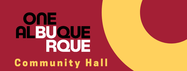 A JPEG of the One Albuquerque Newsletter banner graphic.