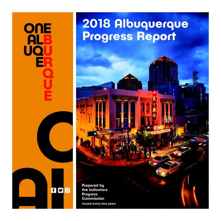 2018 Albuquerque Progress Report Cover