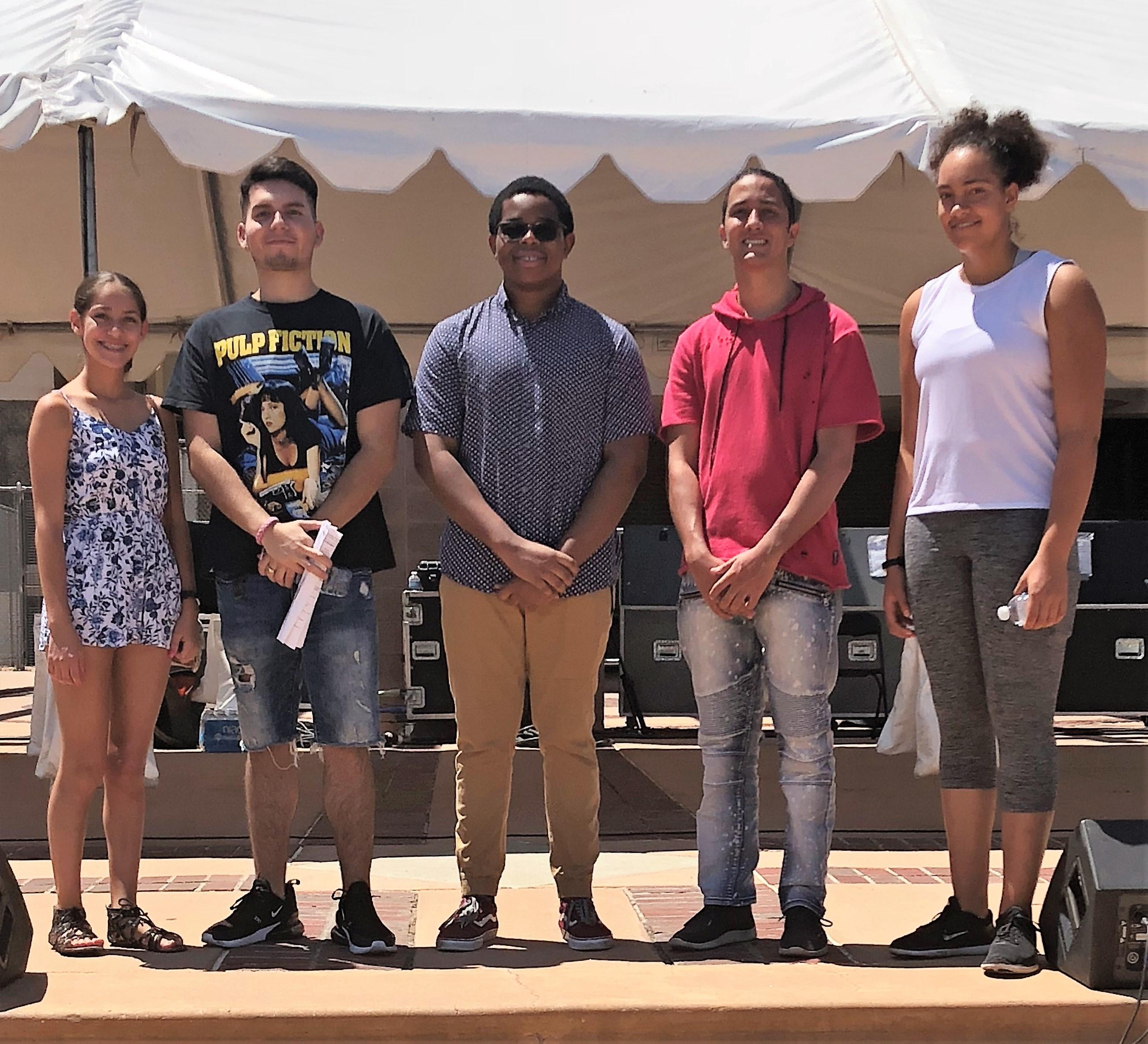 Mayors Youth Advisory Council Members 1