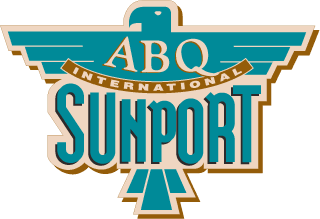 Logo Albuquerque international Sunport