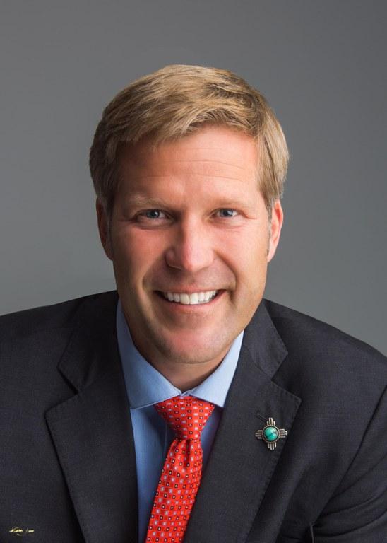 A head shot image of Mayor Tim Keller.