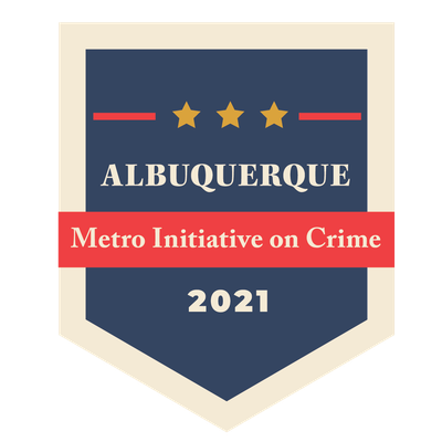 The logo for the 2021 Metro Crime Initiative
