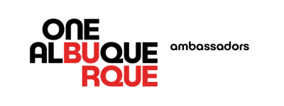The One ABQ Ambassadors Logo.