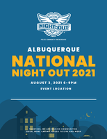 City and Neighborhoods Organize for National Night Out, Country-wide Public Safety Effort