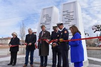 Mayor Keller and Albuquerque City Council Unveil 9/11 Memorial