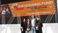 Mayor Keller and Clear Channel Unveil Housing Fund Billboards