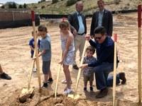 Mayor Keller, Councilor Harris, Neighbors Celebrate Groundbreaking of Juan Tabo Hills Park