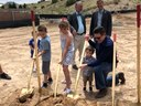 Mayor Keller, Councilor Harris, Neighbors Celebrate Groundbreaking of Juan Tabo Hills Park