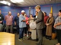 Mayor Keller Recognizes Department of Senior Affairs Team with Hero Awards