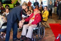 Mayor Tim Keller Honors Navajo (Diné) Code Talkers at Albuquerque Wall of Fame Induction