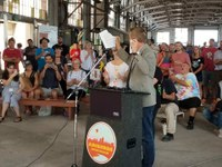 Mayor Tim Keller's Efforts to Take Back Rail Yards Clears First Hurdle