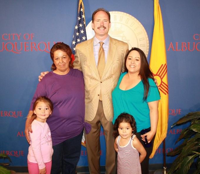 Annette Romero and Wendy Trujillo