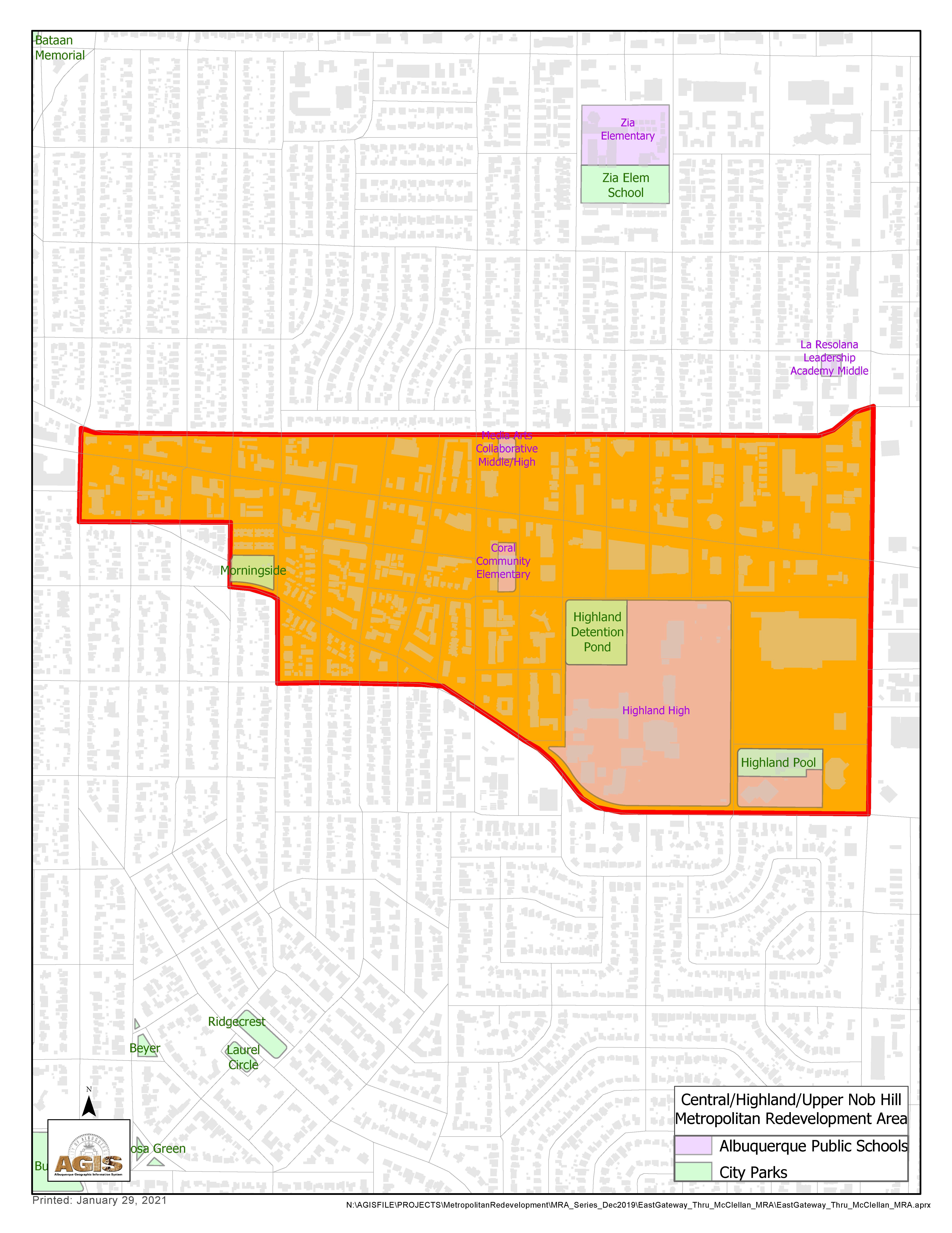 Highland MRA Map