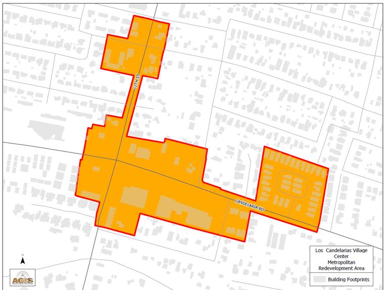 Los Candelarias MRA Map