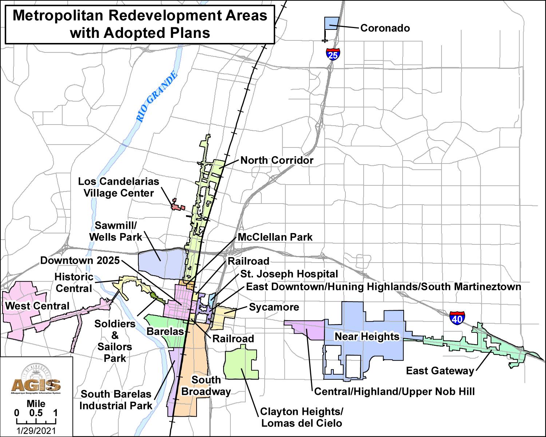 MRA Development Areas Interactive Map
