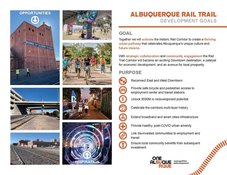Rail Trail Infographic