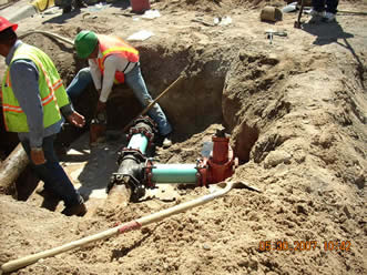 14th and Iron Water Line Problems