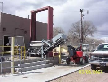 Replacing Bar Screen at Barelas Pump Station