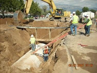 Osuna Drainage Work