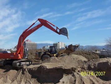 Tingley Park Excavation Operation