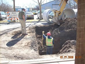 Kinley 2008 Relocating Utility Lines