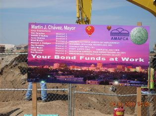 Wyoming project sign