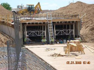 Concrete Pouring of the slab