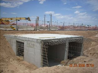 East End of the Culvert
