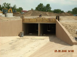 West end of the Culvert