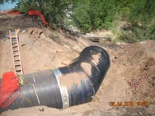 Moon Outfall Pipe