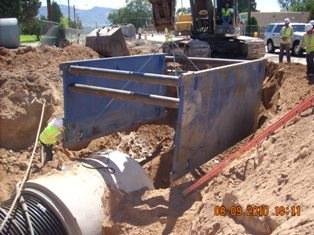 Connection at copper st and Los Altos Park