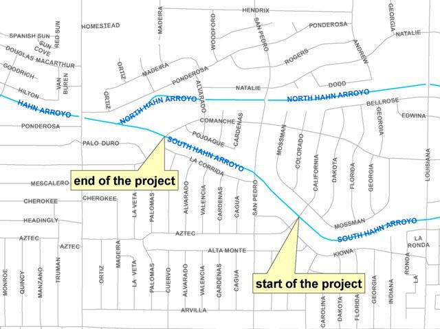 Hahn Project Location