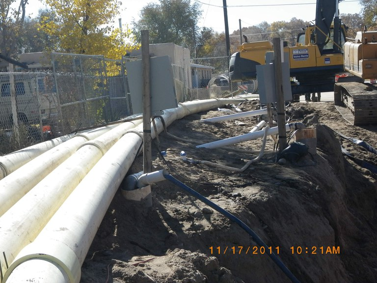 Dewatering operation