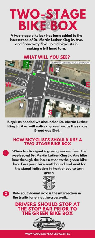 Two Stage Bike Box how to