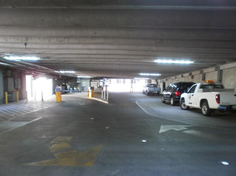 Parking Garage Lighting Upgrades