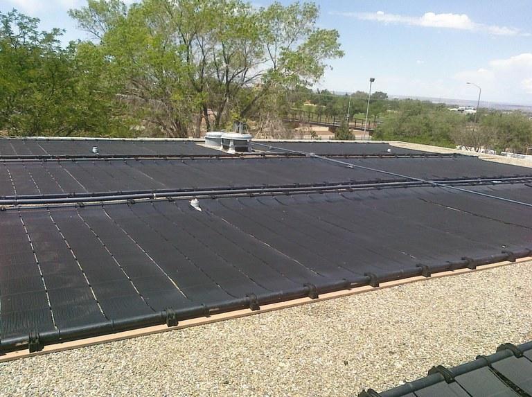 Sandia Solar Pool