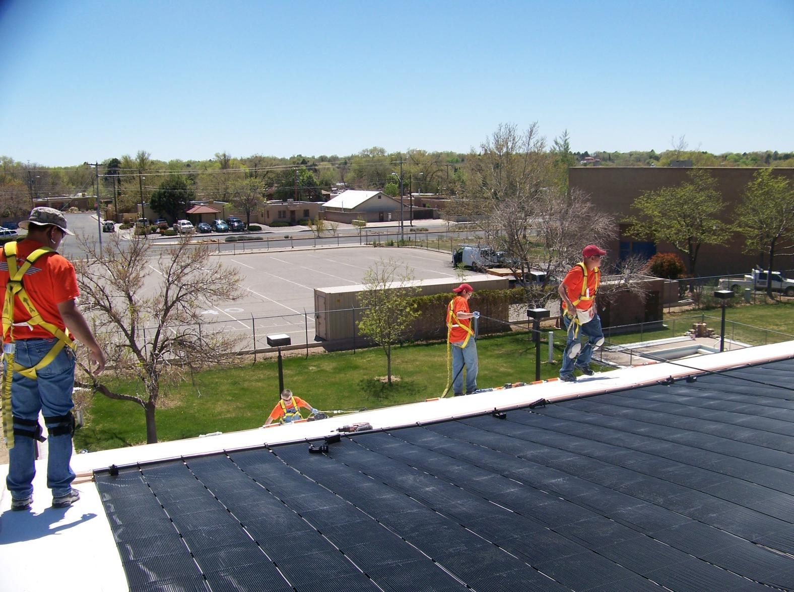 West Mesa Solar Pool 1