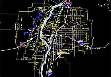 abq map