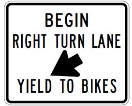 Begin Right Turn Lane