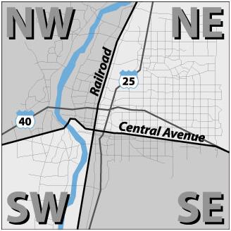 Traffic Report Quadrant Map