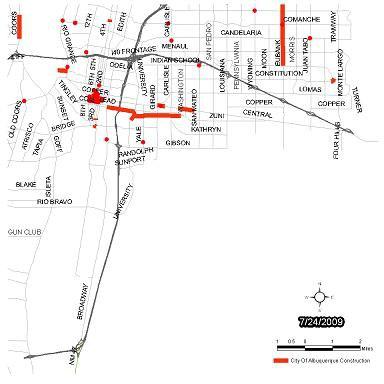 Southeast Traffic Report Map