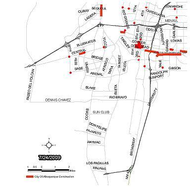 Southwest Traffic Report Map
